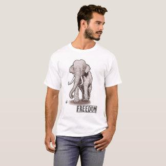 """Freedom"" Elephant Men's T-shirt"