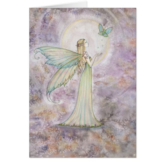 Freedom Fairy and Butterfly Greeting Card