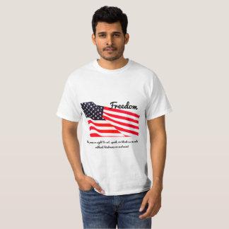 Freedom Flag Value T-Shirt