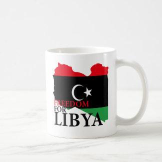 Freedom for Libya Basic White Mug