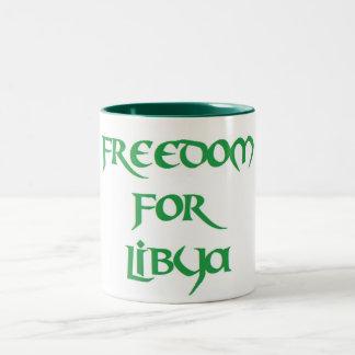 Freedom for Libya Mugs