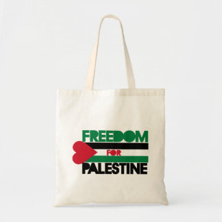 Freedom for Palestine Budget Tote Bag
