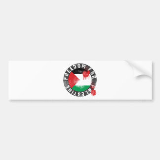 Freedom for Palestine Car Bumper Sticker
