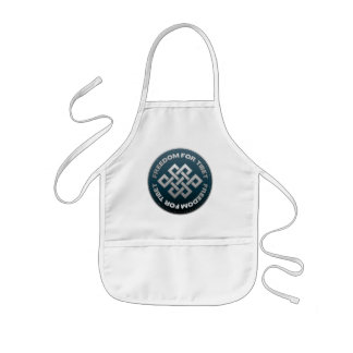 Freedom For Tibet Stitch Aprons