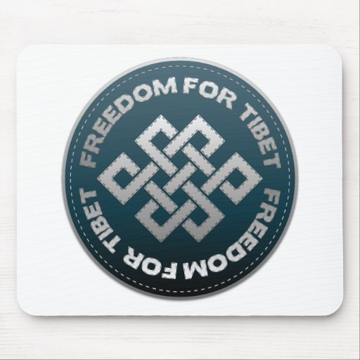 Freedom For Tibet Stitch Mousepads
