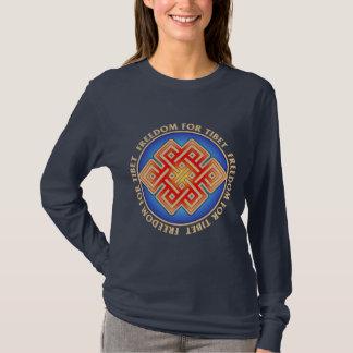 Freedom for Tibet Women's Long Sleeved T-Shirt