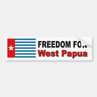 Freedom For West Papua Bumper Sticker