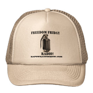 Freedom Friday Radio! Cap
