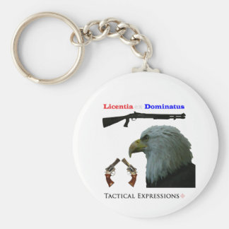 Freedom from Tyranny Products Basic Round Button Key Ring