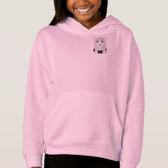 Freedom Girl Pink Hoodies