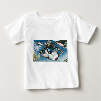 Freedom graffiti baby T-Shirt
