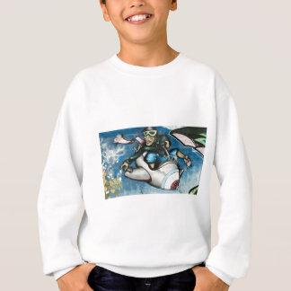 Freedom graffiti sweatshirt