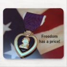Freedom has a price! mouse mat