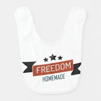 Freedom - homemade version baby bibs