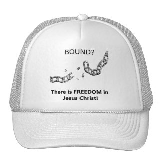 Freedom in Christ - hat