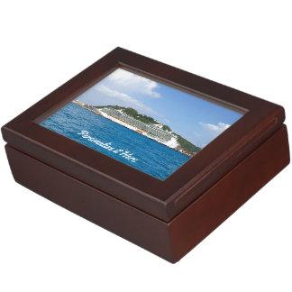 Freedom in St. Maarten Personalized Keepsake Box