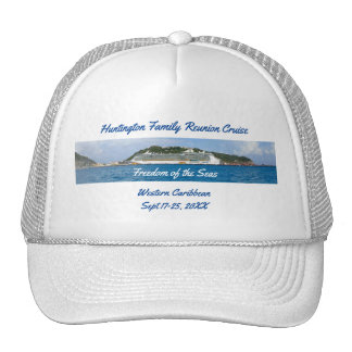 Freedom in St Martin Custom Group Cruise Cap