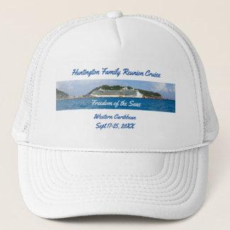 Freedom in St Martin Custom Group Cruise Trucker Hat