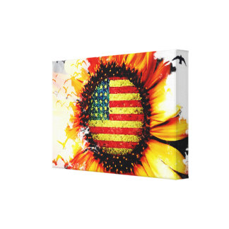 Freedom in the Spring Canvas Print