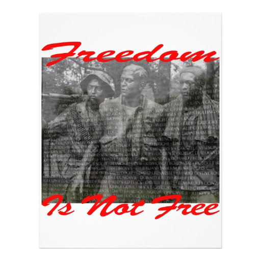 Freedom Is Not Free #002 Full Color Flyer