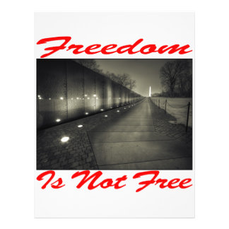 Freedom Is Not Free 003 Full Color Flyer