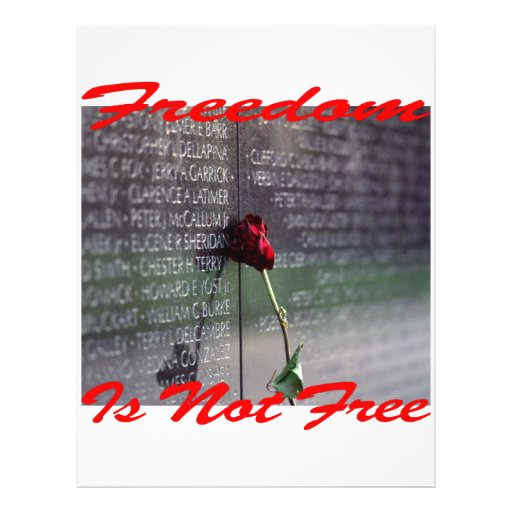 Freedom Is Not Free #004 Flyer Design