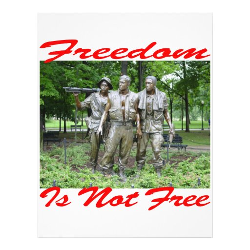 Freedom Is Not Free #005 Flyers