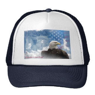 """Freedom is Not Free"" Cap"