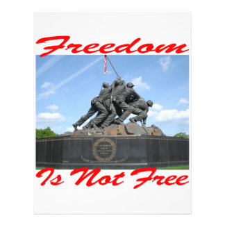 Freedom Is Not Free Flyer Design