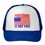 Freedom Is Not Free Mesh Hat