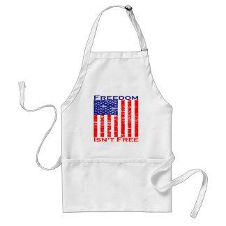 Freedom Isnt Free American Flag Apron