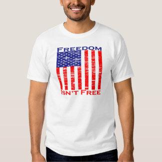 Freedom Isnt Free American Flag Tee Shirt