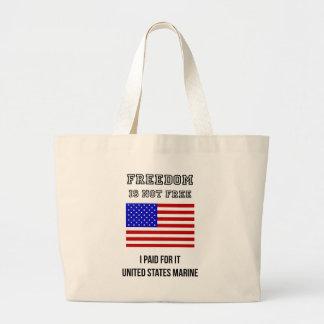 Freedom Isn't Free Tote Bags