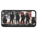 Freedom Isnt Free Military Soldier Silhouette iPhone 5 Covers