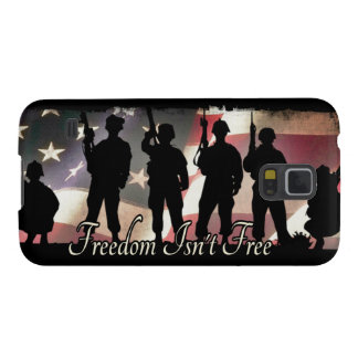 Freedom Isnt Free Military Soldier Silhouette Galaxy S5 Case