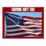 Freedom Isn't Free Postcards