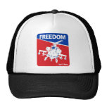 Freedom is't Free - Helicopter Trucker Hats
