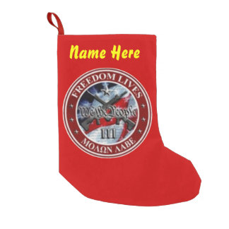 FREEDOM LIVES CHRISTMAS STOCKINGS