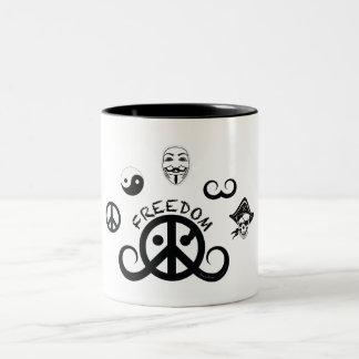 Freedom mug (2-color; origin)