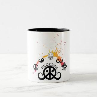 Freedom mug (2-color; origin/mini splash)