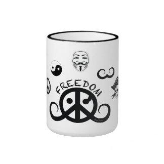 Freedom mug (ringer; origin)