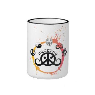 Freedom mug (ringer; origin/splash)