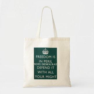 FREEDOM NEEDS DEFENDING TOTE BAG