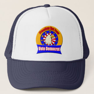 Freedom Not Fear Democrat Hat