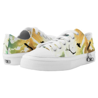 Freedom Of Birds Low Tops