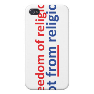 Freedom of religion not from religion iPhone 4/4S covers