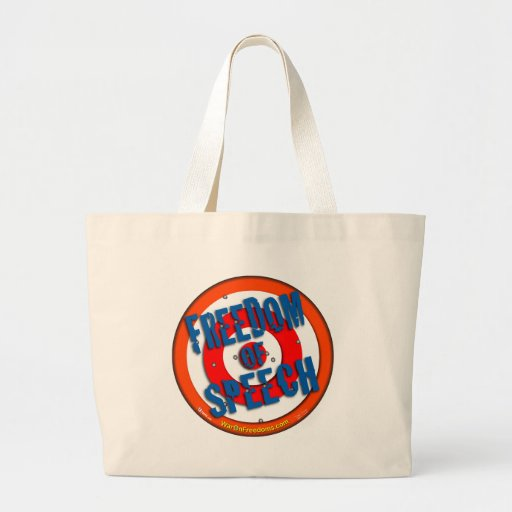 Freedom of Speech Tote Bag