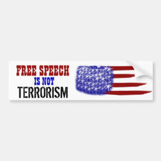 Freedom of Speech Bumper Sticker