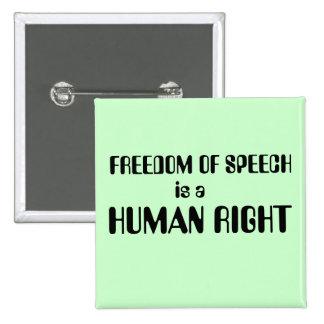 Freedom of Speech Button