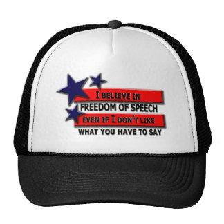Freedom of Speech Cap
